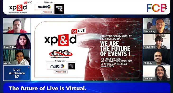 XP&D, Multi TV & FCB India curate virtual experience platform for brands